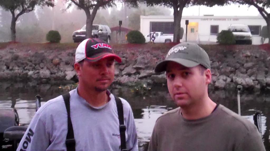 Jason Christie talks about Lake Okeechobee Day 1