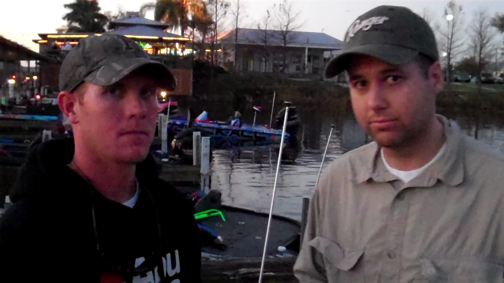 Brandon McMillan on day two on Lake Okeechobee