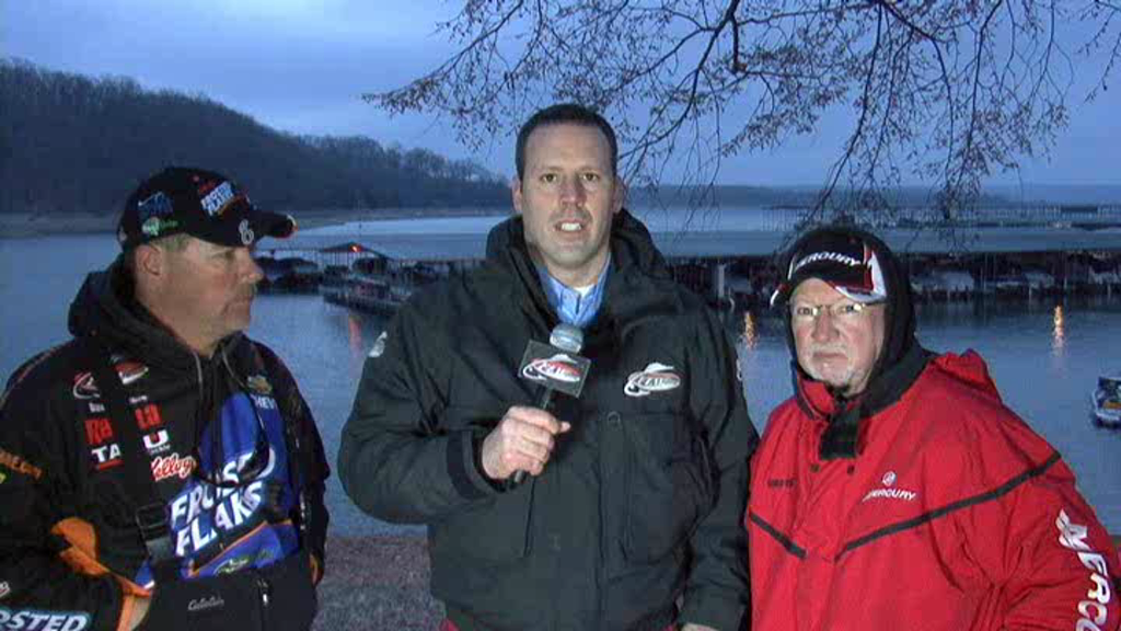 FLW Major 1 Beaver Lake Take-Off Interview Stacey King and Dave LeFebre