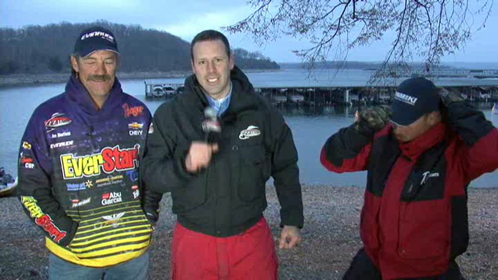 FLW Major 1 Beaver Lake Take-Off Interview Ron Shuffield and Bryan Thrift