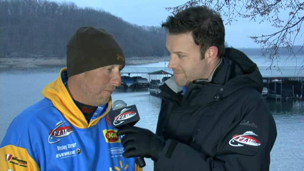 FLW Major 1 Beaver Lake Take-Off Interview Wesley Strader and Justin Lucas