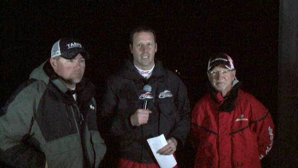 2011 FLW Tour Major 2 Lake Hartwell TakeOff Interview LeFebre and King