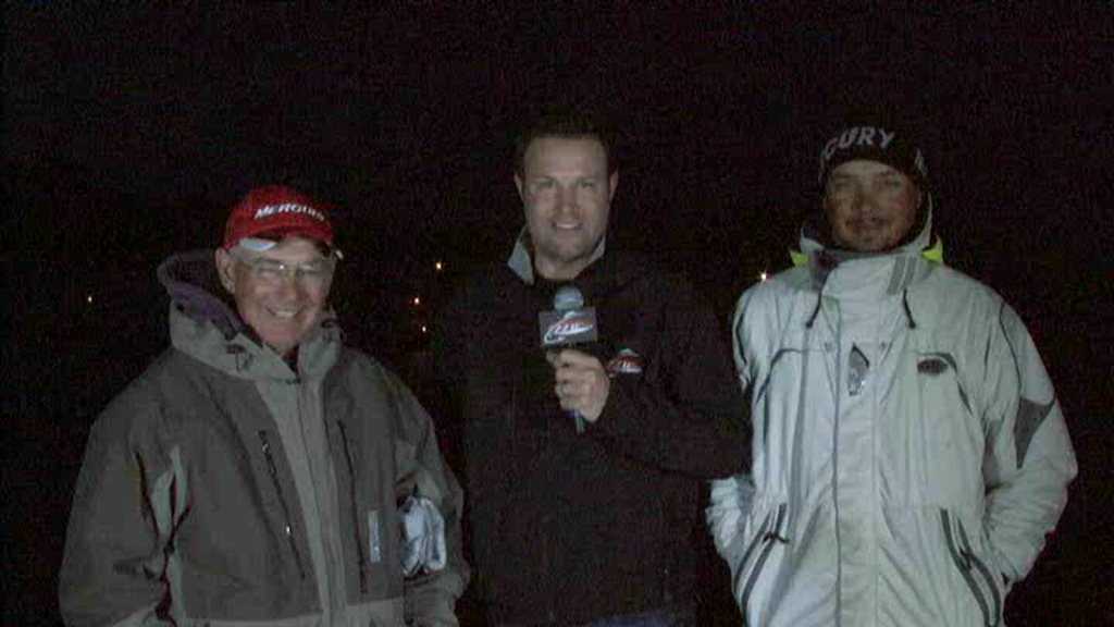 2011 FLW Tour Major 2 Lake Hartwell TakeOff Interview Monsoor and Christie