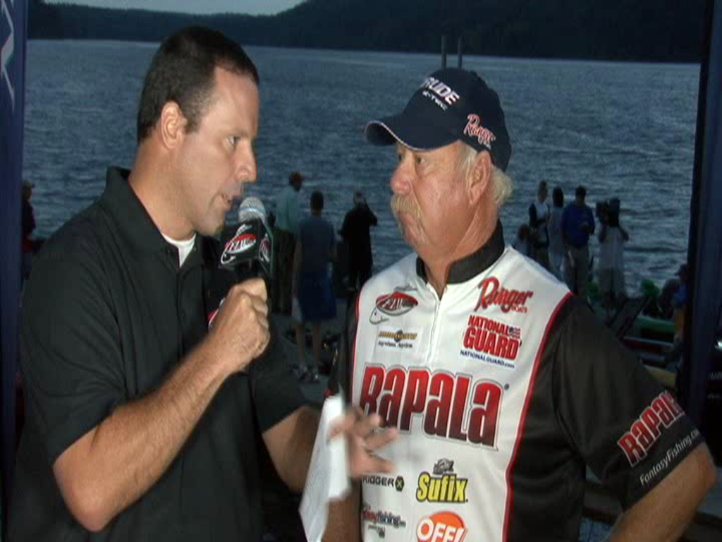 2011 FLW Tour Major Kentucky Lake Take-Off Interview Monsoor and Mann
