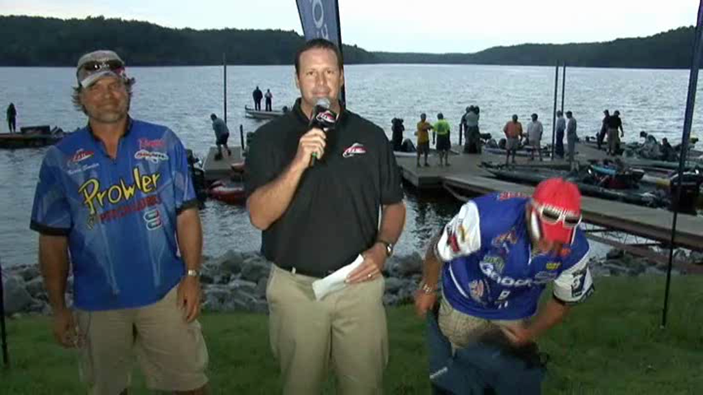 2011 FLW Tour Major Kentucky Lake Take-Off Interview Snider and Grigsby