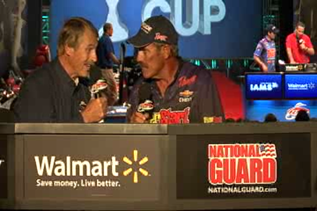 Ron Shuffield and Hank Parker talk about Day 1at the Forrest Wood Cup