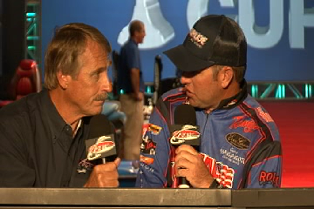 Brett Hite interview with Hank Parker at the Forrest Wood Cup