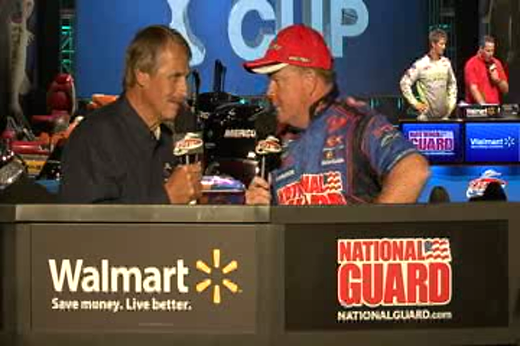 Mark Rose, National Guard Pro, with Hank Parker