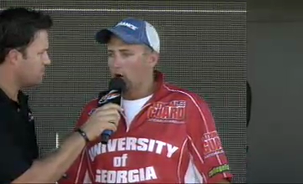 National Guard FLW College Fishing Southeast Regional Final Day Weigh-In
