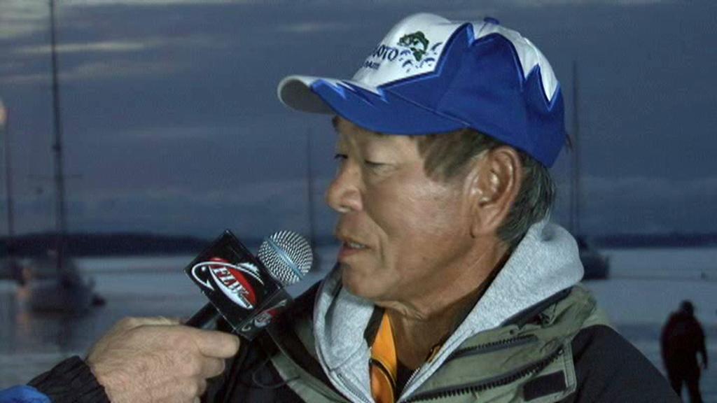 2011 FLW Tour Open Lake Champlain Final Day Take-Off Interview Wolak   Yamamoto