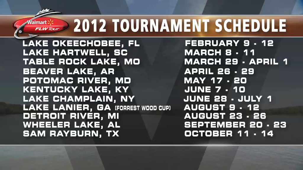2011 FLW Tour Year in Review TV Show