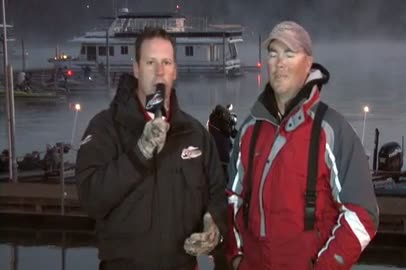 2011 FLW EverStart Championship Final Day Take-Off Interview Brad Knight