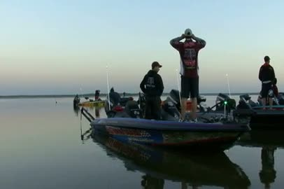2011 National Guard FLW College Fishing Texas Regional Final Day Take-Off