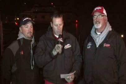 2011 FLW EverStart Championship Final Day Take-Off Interview Kreiger   McDonald