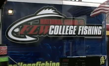 2011 National Guard FLW College Fishing Western Regional Final Day Weigh-In