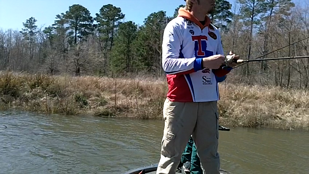 LOUISIANA TECH UNIVERSITY - LOETSCHER   IGO00 - Sam Rayburn Reservoir - 1 - video  28