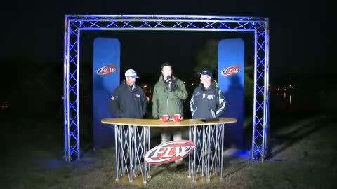 2012 FLW Tour Major Lake Hartwell Final Day Take-Off Interviews - Auten   Gagliardi