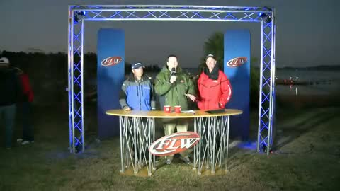 2012 FLW Tour Major Lake Hartwell Final Day Take-Off Interviews - Hite   Stone