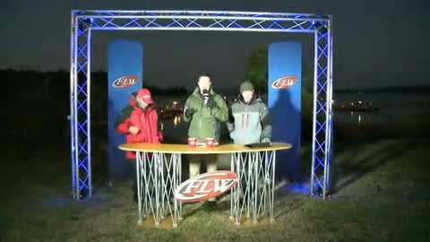 2012 FLW Tour Major Lake Hartwell Final Day Take-Off Interviews - Monsoor   Ehrler