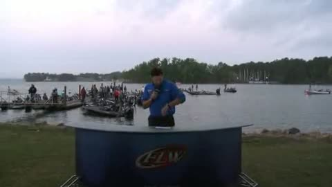 2012 National Guard FLW College Fishing Championship Final Day Take-Off Interview - Kennesaw State