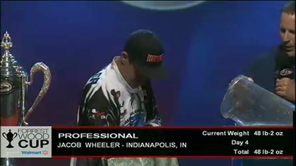 2012 FLW Tour Forrest Wood Cup - Day 4 Weigh-In