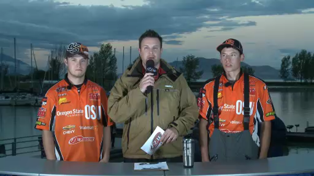 2012 CF Western Conference Championship Final Day Take-Off Interview Oregon State University