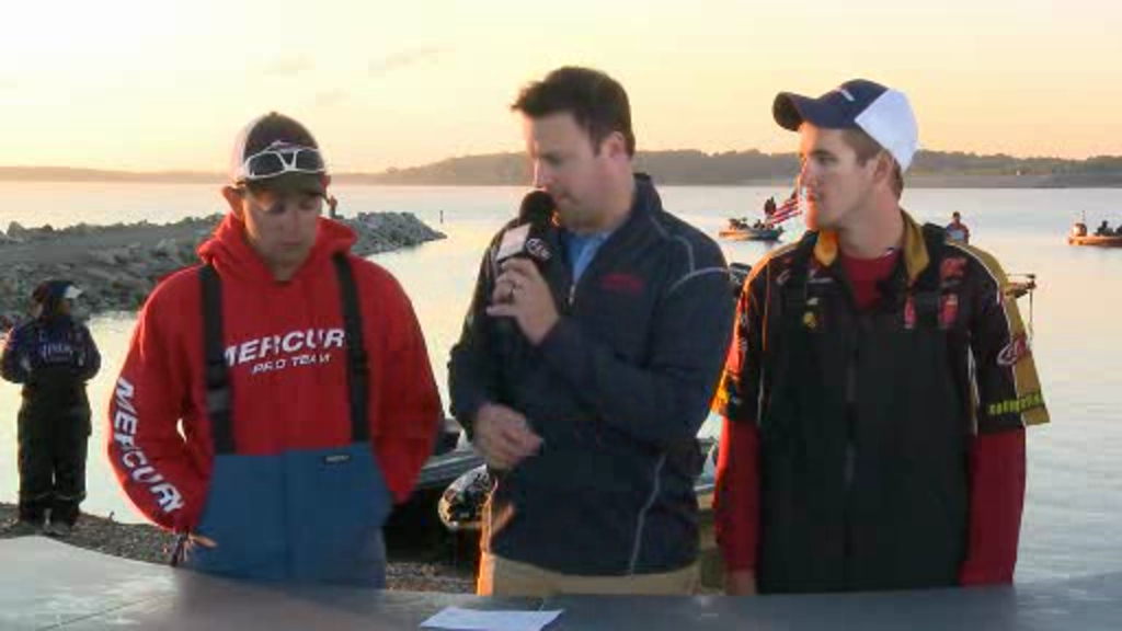 2012 NG FLW College Fishing Central Championship Final Day Take-Off Interview - Purdue University