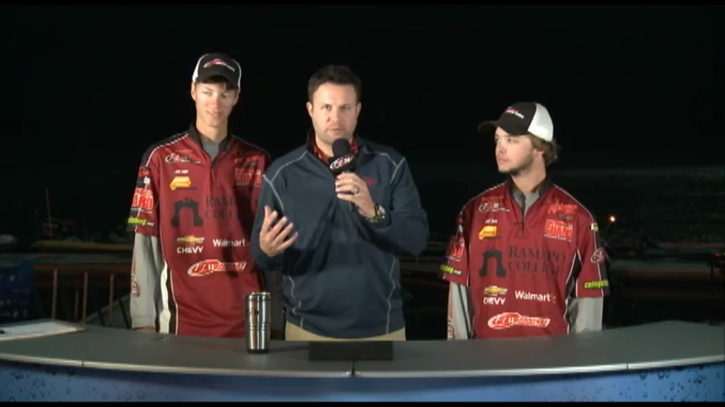 2012 College Fishing Northern Conference Championship Final Day Take-Off Interviews - Ramapo College