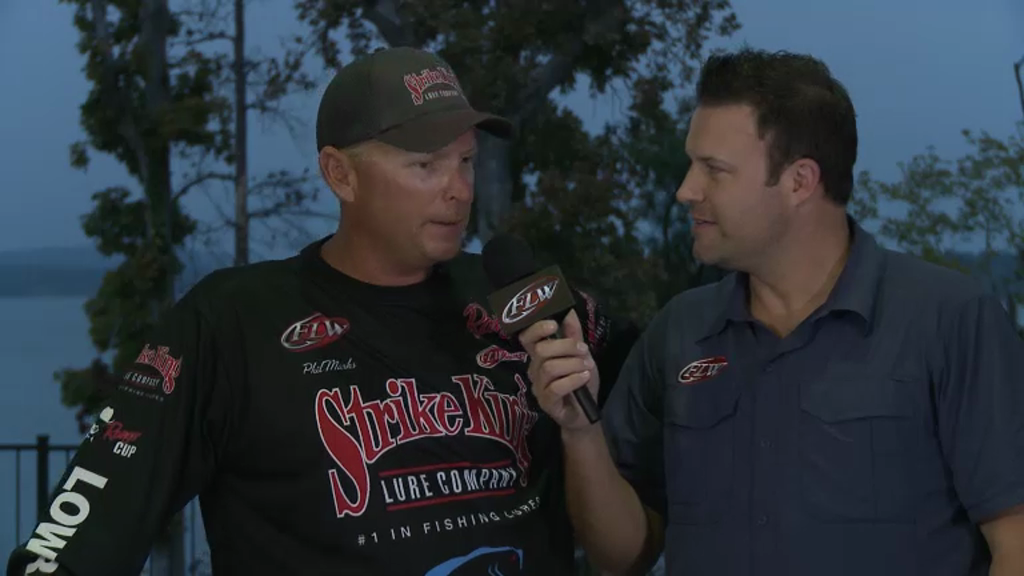 2012 FLW Tour Open Sam Rayburn Final Day Take-Off Interviews - Marks   Grigsby