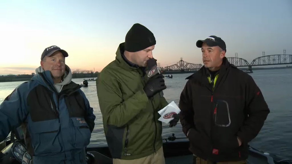 2012 Walleye Championship Final Day Take-Off Interviews - Chris Gilman   Todd Zemke