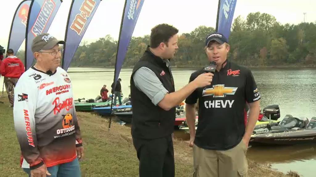 2012 EverStart Series Championship Final Day Take-Off Interviews - Larry Jones   Casey Martin