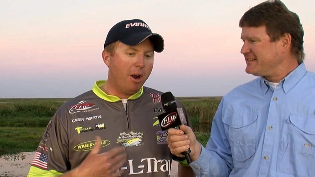 Pre-Tournament Report from Lake Okeechobee with Casey Martin