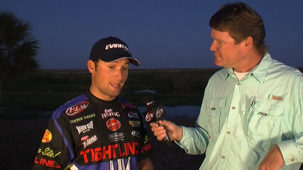 Pre-Tournament Report from Lake Okeechobee with Justin Lucas