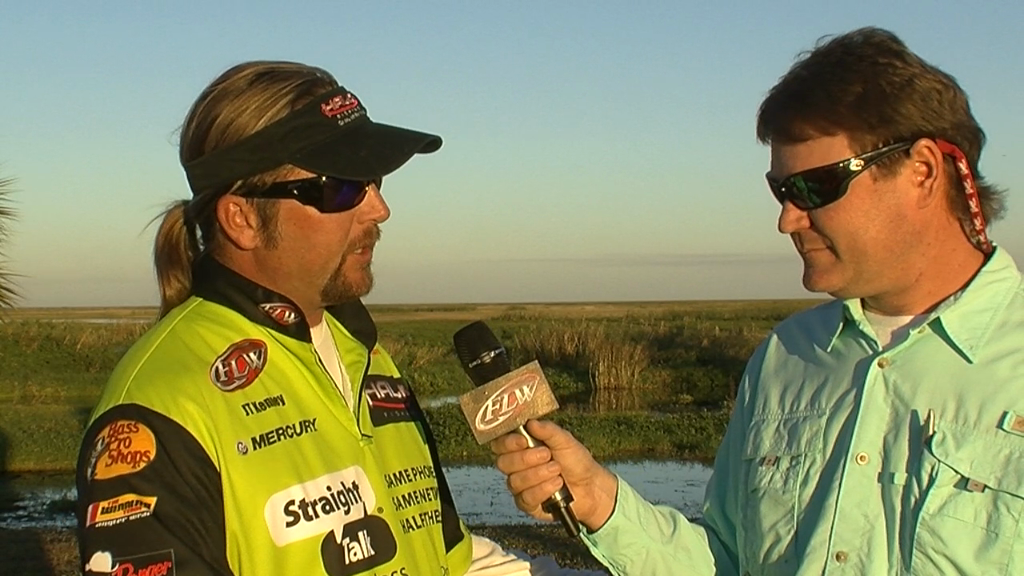 Pre-Tournament Report from Lake Okeechobee with JT Kenney