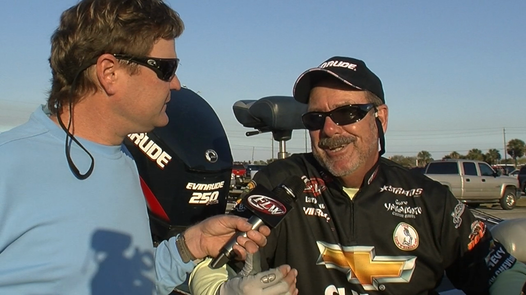Pre-Tournament Report from Lake Okeechobee with Larry Nixon