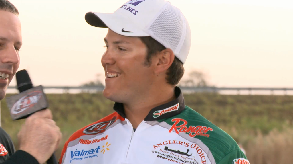 2013 FLW Tour Lake Okeechobee Final Day Take Off Interviews -- Avena   Jarabeck