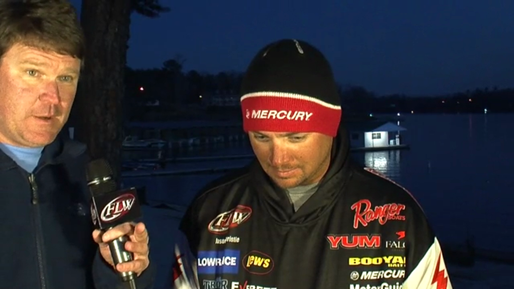 Pre-Tournament Report from Lewis Smith Lake with Jason Christie