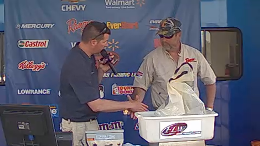 2013 BFL Lake Russell Apr 06 Weigh-in - Part 1