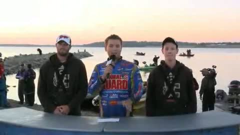 2012 NG FLW College Fishing Central Championship Final Day Take-Off Interview - Georgetown College