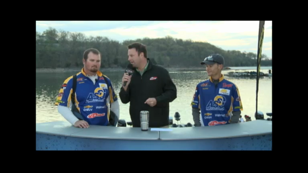 2013 FLW College Fishing National Championship Final Day Takeoff Interviews - Angelo State