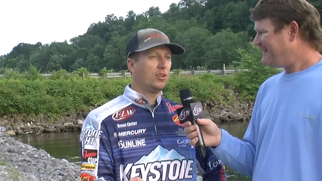 Pre-Tournament Report from Lake Chickamauga with Brent Ehrler