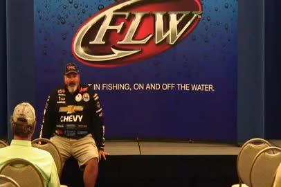 Dion Hibdon Evinrude Fishing Seminar