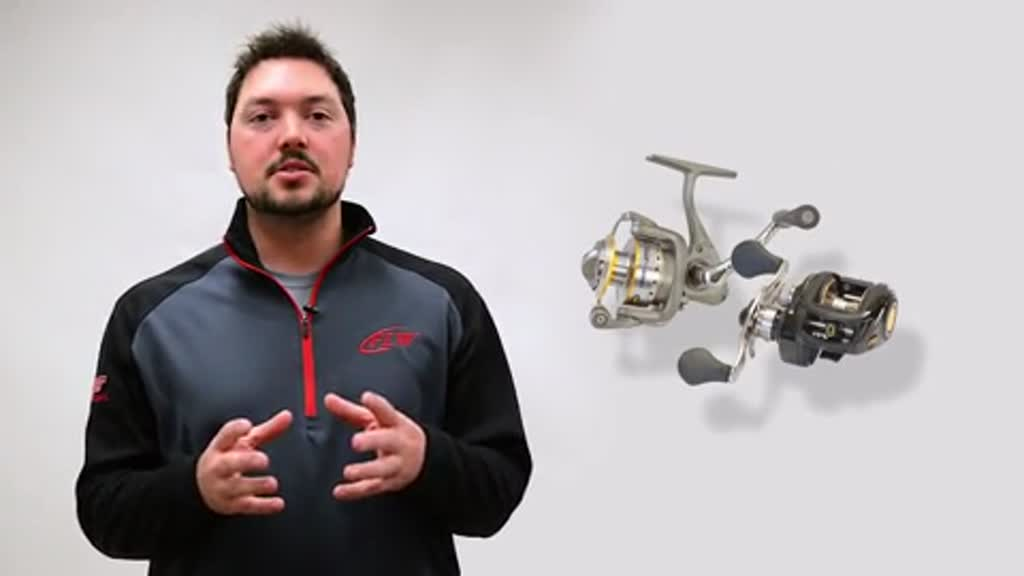 FLW Fishing 101 - Choosing a reel