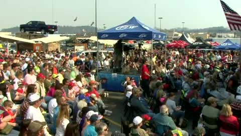 2014 FLW Tour Lake Hartwell Mar 06 -  09 Weigh-in