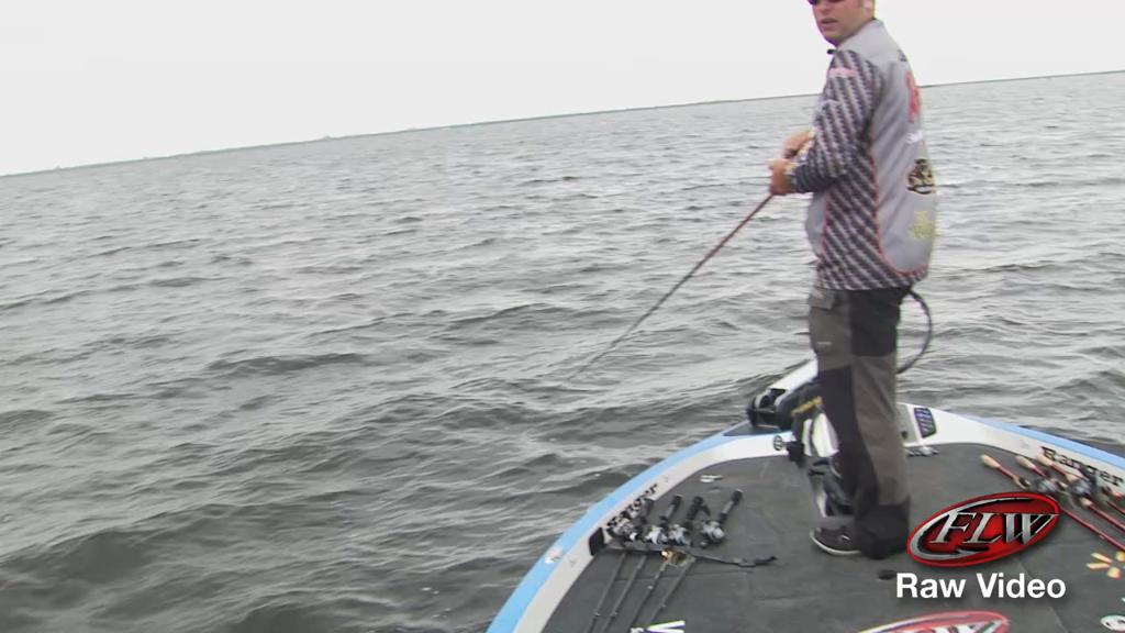 Brett Hite Raw Fish Catches Okee