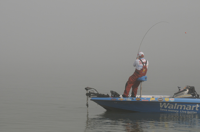 Reeltime Report  Sam Rayburn Reservoir, Day 2