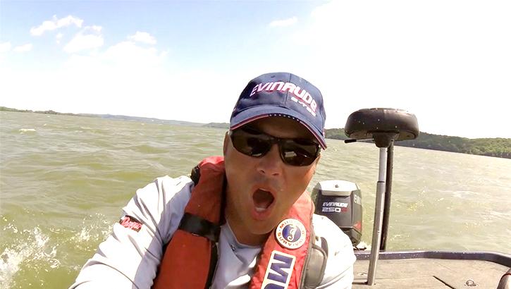 Scott Martin video blog from Kentucky Lake