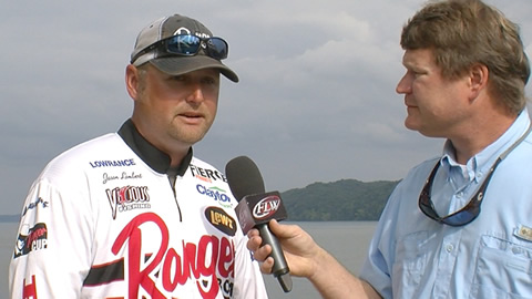 Pre-Tournament Report from Pickwick Lake with Jason Lambert