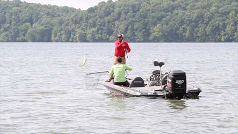 Reeltime Report  Pickwick Lake, Day 2