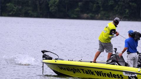 Reeltime Report  Pickwick Lake, Day 4